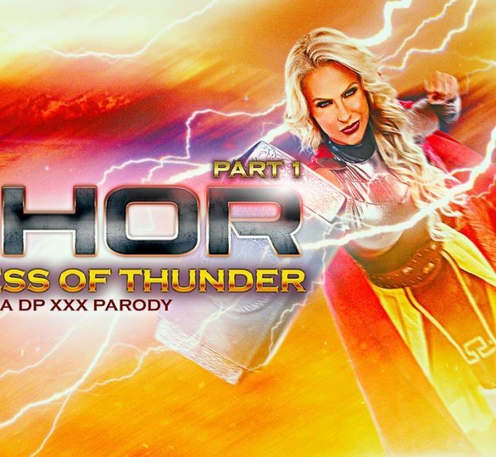 Phoenix Marie - Whor: Godess of Thunder, A DP XXX Parody Part 1  [HD 720p]
