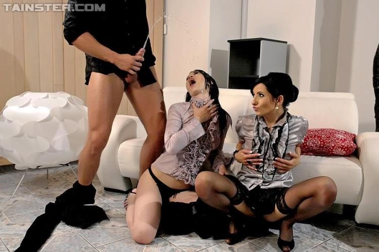 Victoria Rose, Emma - Drowning Her Problems In Piss [Tainster, FullyClothedPissing, PissingInAction / HD]