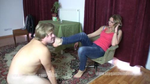Elegantfemdom.com [Lady Jessica - Foot Slaps] FullHD, 1080p