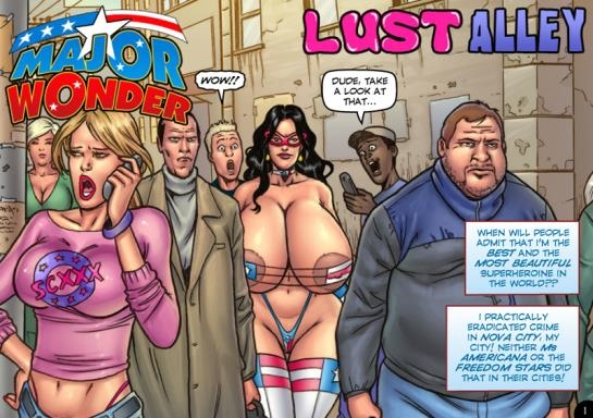 comics: Updated Eric Logan III - Major Wonder - Lust Alley (250 Pages/103.56 MB) 18.05.2017