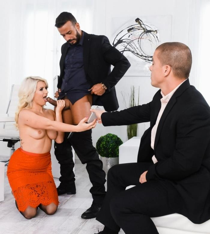 Layla Price- Double Teaming Our Boss  [HD 720p] DPFanatics