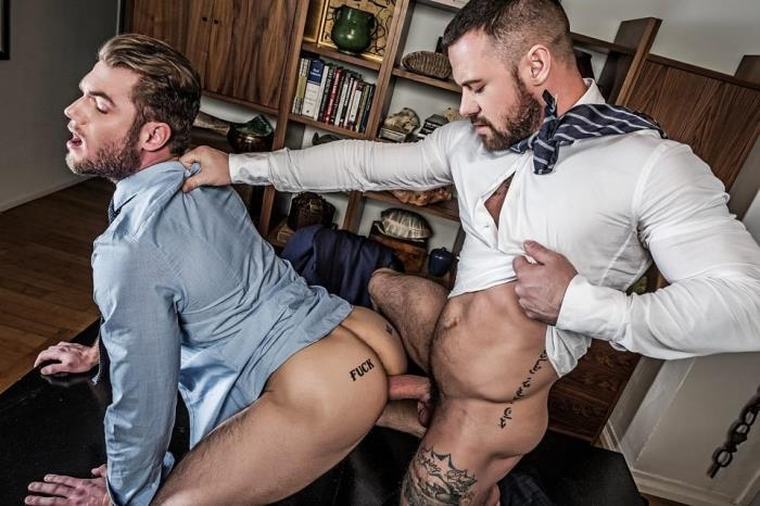 Sergeant Miles Makes Ace Era Earn His Promotion - Gentlemen 19: Hard At Work, scene 3 (LucasEntertainment) HD 720p