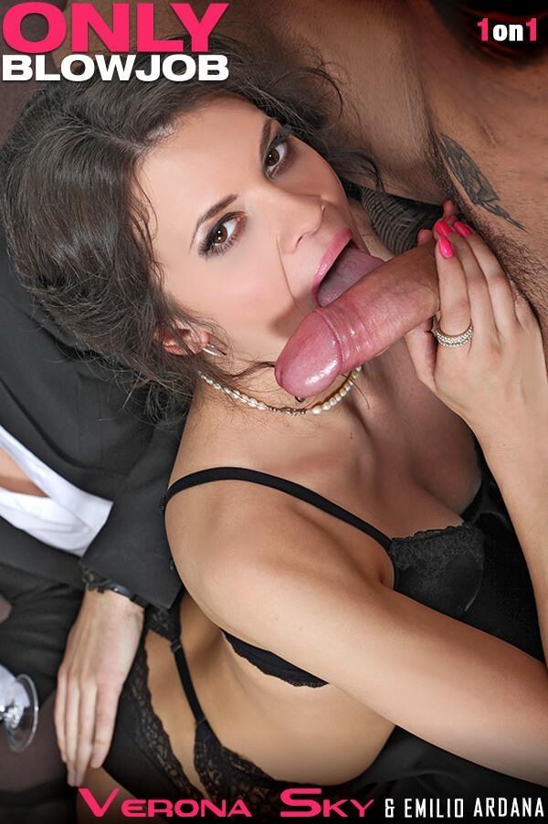 Verona Sky - Irresistibly Hot: Russian Stripper Sucks Rock-Hard Dick - OnlyBlowJob.com / DDFNetwork.com (SD, 540p)