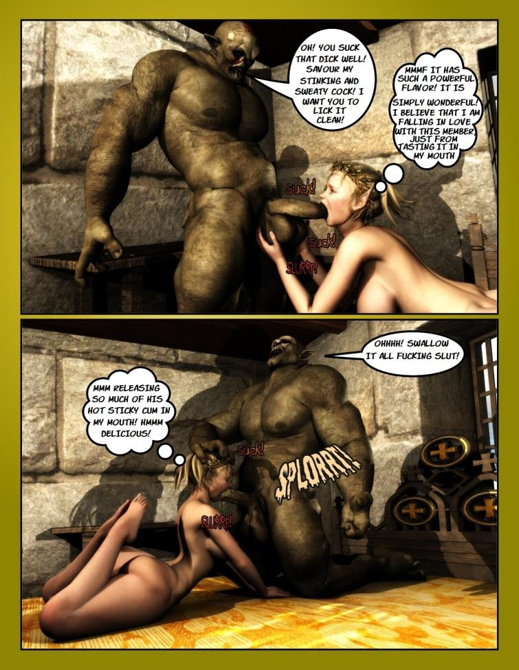 The Reward Of The Orcs from Moiarte [93  pages]