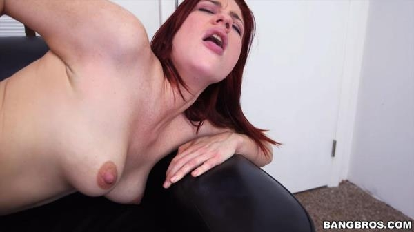 BackRoomFacials, BangBros - Fiery Red Head is Eager to Please [HD, 720p]