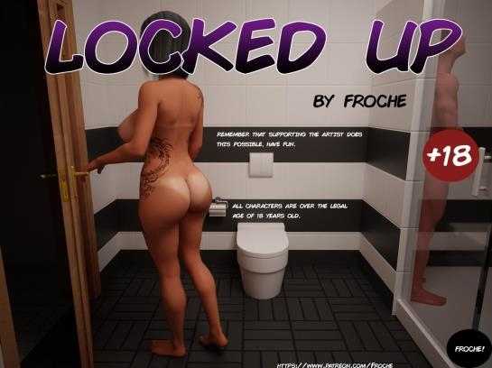 3d porn comics: Froche - Locked Up (10 Pages/11.50 MB) 18.05.2017