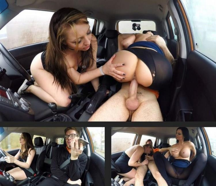 Crystal Coxxx, Jasmine Jae and Ryan Ryder - Instructor and Examiner Team Up [FakeDrivingSchool / SD]
