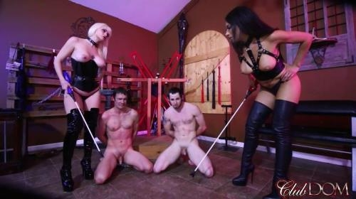ClubDom.com [Electro-shock and Thigh High Boots] FullHD, 1080p