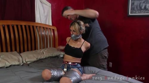 BondageJunkies.com [Briella vs Her Sticky Situation] HD, 720p