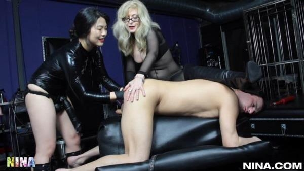 Nari Park, Nina Hartley - Lesson 271 - Nina Hartley's Role Reversal Threesome - Nina.com (FullHD, 1080p)