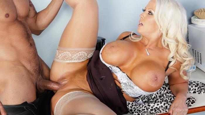 MyFirstSexTeacher - Alura Jenson - Busty Blonde Sexuality Teacher [SD 480p]