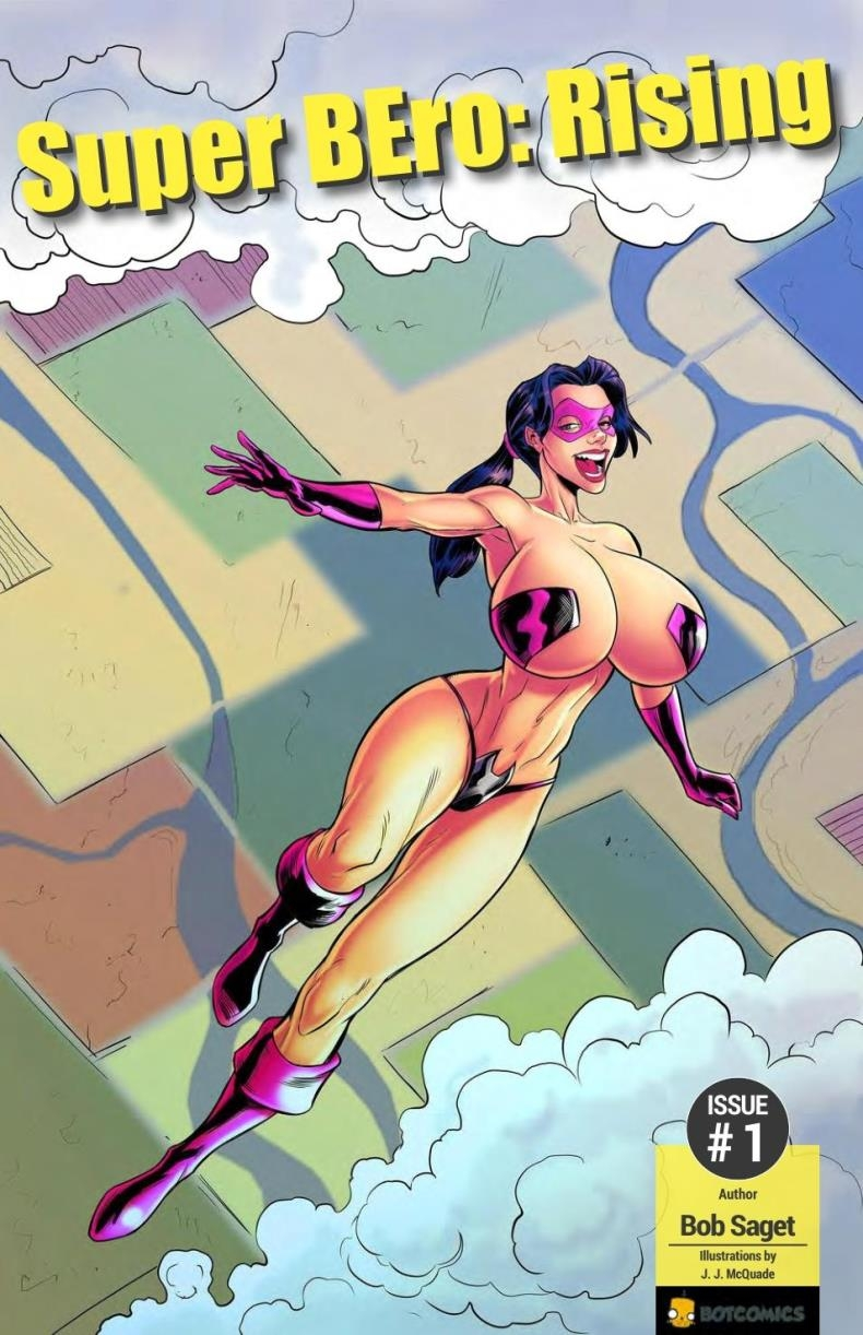 Superheroine with Giant Breasts in Super BEro-Rising 1-3 by BotComics (comics/39  pages/22.21 MB)