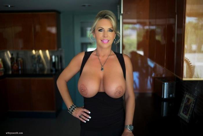 WifeysWorld.com - Sandra Otterson - Dishwasher's Delite! [SD, 480p]