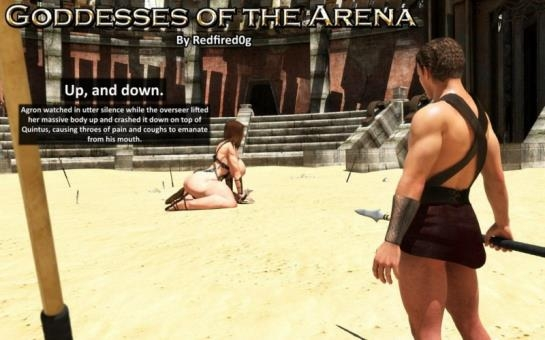 3d porn comics: Goddesses Of The Arena - Part 2 art by Redfiredog (70 Pages/10.45 MB) 14.05.2017