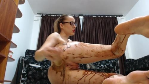 Scat [Chocolate - Extreme Scat Fisting] FullHD, 1080p