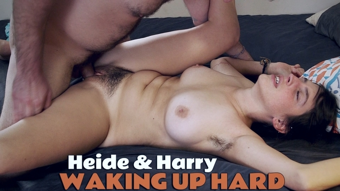 Girlsoutwest: Heide and Harry - Waking Up Hard  [FullHD 1080] (1.21 Gb)