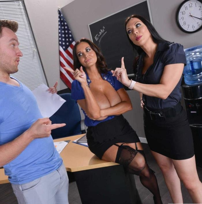 MyFirstSexTeacher/Naughtyamerica: Ava Addams, Rachel Starr - My First Sex Teacher  [HD 720p]  (Threesome)