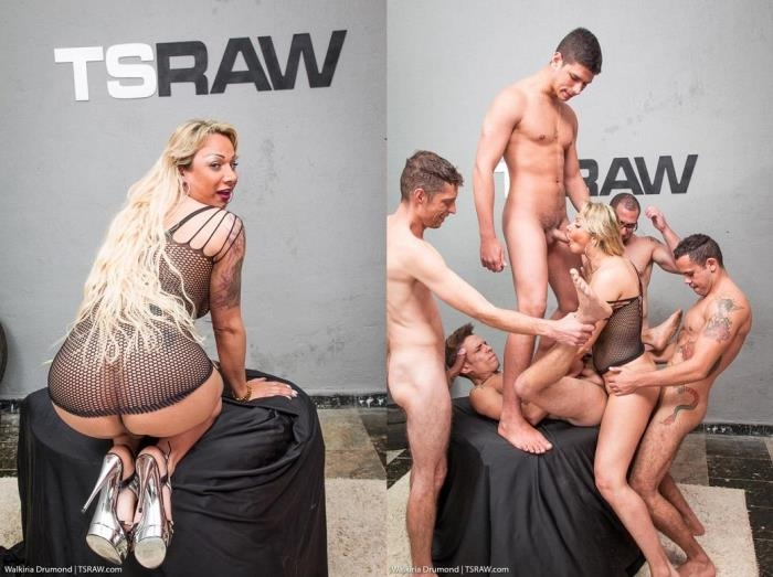 Walkiria Drumond - Walkiria Drumond Gangbang (TSRaw) HD 720p