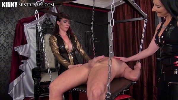 Kinkymistresses: Mistress Susi, Lady Luciana - A perfectly Ruined Orgasm  [HD 720p] (173.17 Mb)