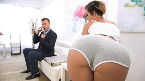 DirtyMasseur.com / Brazzers.com [Jada Stevens - Taking Care Of Businessman] SD, 480p