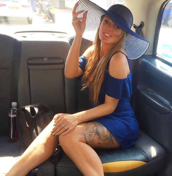 FakeTaxi: Stacey Saran  - Long Legs Tattoos and Great Tits (2017) HD  720p