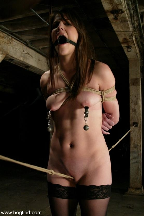 Bobbi Starr is one of the hottest rising starlets of the adult industry [Kink, HogTied / HD]