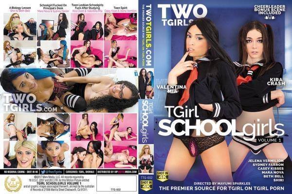 Mayumi Sparkles, VIP Digital - Tgirl schoolgirls vol.1 [HD, 720p]