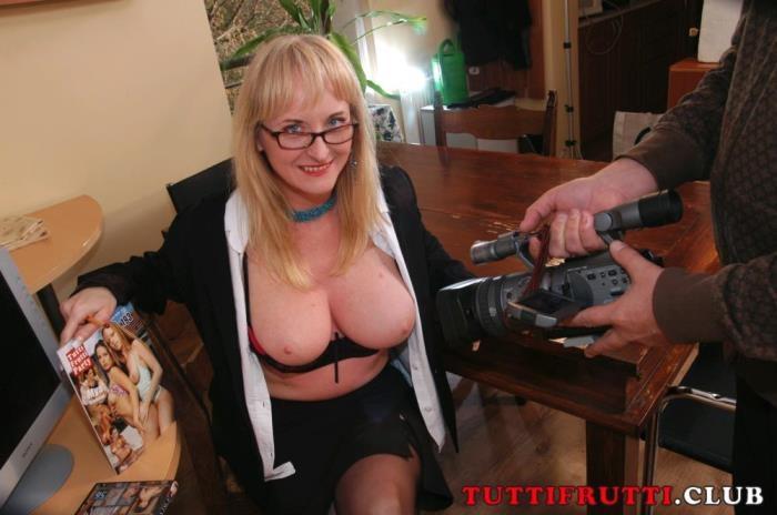 Tuttifrutti.club - Cocksucker Monica - Slutty Teacher MILF Monica banged [SD 540p]