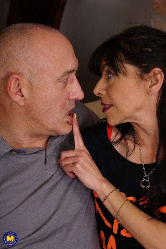 Cristiana (49) - Fresh mature lady fucking and sucking (Milf) - Mature.nl   [FullHD 1080]