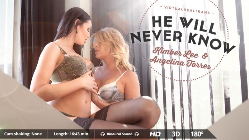 VirtualRealTrans: Angelina Torres, KimberLee - He Will Never Know [FullHD 1080p] (999.21 MB)