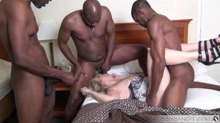 PussyBandit.com - Amateur - Swing wife Take on 3 BBC [FullHD 1080p]