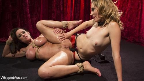 Mona Wales, Christina Carter - Make That Dick Disappear: Bombshell Christina Carter Returns! [SD, 540p] [WhippedAss.com / Kink.com]