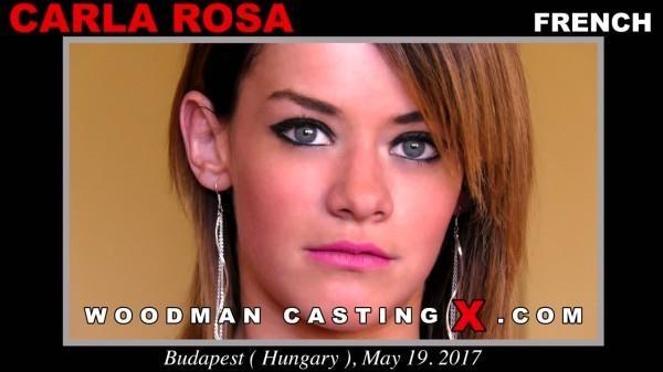 Carla Rosa - Casting X 175 - Anal with French Teen [WoodmanCastingX / SD]