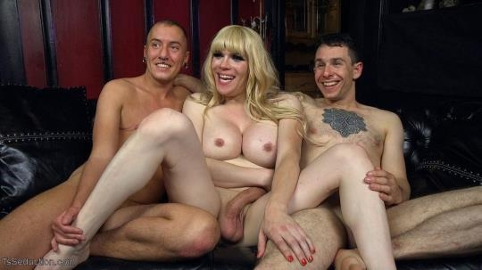 Kink, TsSeduction: Jesse, Corbin Dallas & James Darling - TS Dominatrix Jesse Fucks and Punishes a Submissive Man AND a TS Man! (HD/720p/1.71 GB) 24.06.2017