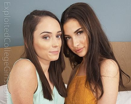 ExploitedCollegeGirls.com - Olivia Nova and Ashley Anderson - Threeway [SD, 432p]