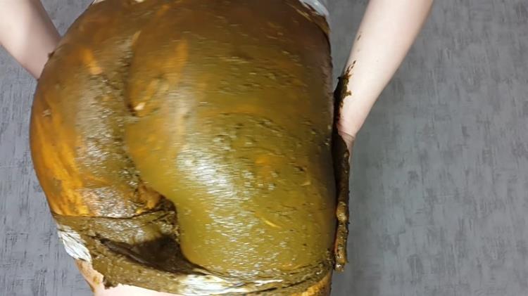 Panty Poop - Solo Scat [Scat / FullHD]
