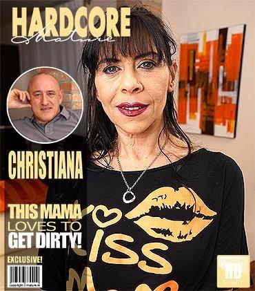 Mature.nl / Mature.eu: Cristiana (49) - Fresh mature lady fucking and sucking [SD] (343 MB)