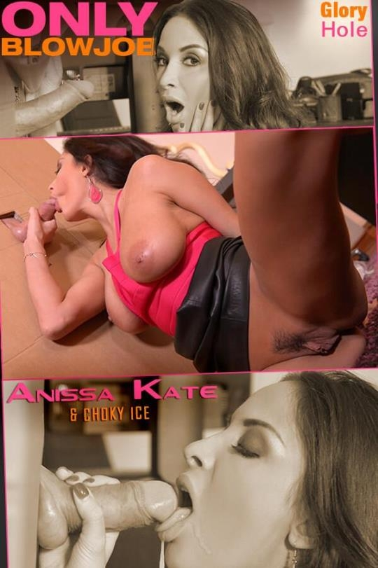 OnlyBlowJob, DDFNetwork: Anissa Kate - Glory Hole Delivery: French Milf Gets Cum All Over Her Face (SD/360p/144 MB) 14.06.2017