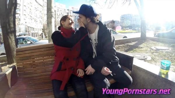 YoungPornstars.net: Lara - Couple meeting on the street and deciding to go for a fuck (2017/FullHD)