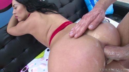 EvilAngel.com [Kristina Rose - Latina Kristina Sodomized To Gaping] SD, 400p