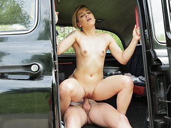 FakeTaxi.com / FakeHub.com [Megan Talerico - Cute Petite Teen Gets Free Ride] SD, 480p
