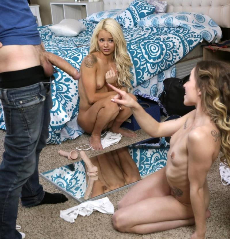 Nubiles-Porn - Alana Summers, Elsa Jean [Step Brother Crashes Sisters Pajama Party] (FullHD 1080p)