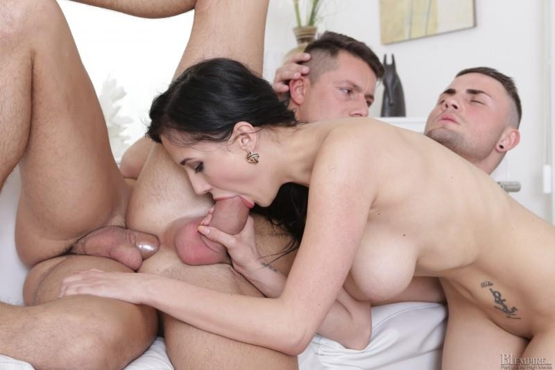Biempire 2 guys and a girl play together 10