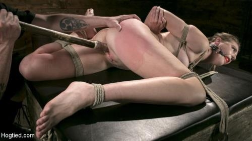 HogTied.com / Kink.com [Ashley Lane - Extreme Domination and Torment in Mind Blowing Bondage] HD, 720p