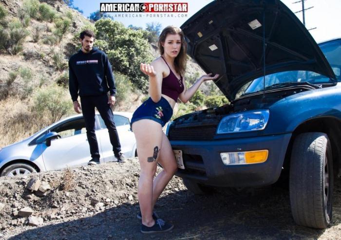 American-Pornstar - Ella Nova - Roadside RimJobRoadside RimJob (1080p / FullHD)