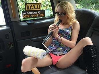 April Paisley - Thin Petite Blonde Takes Big Dick [FakeHub, FakeTaxi / SD]
