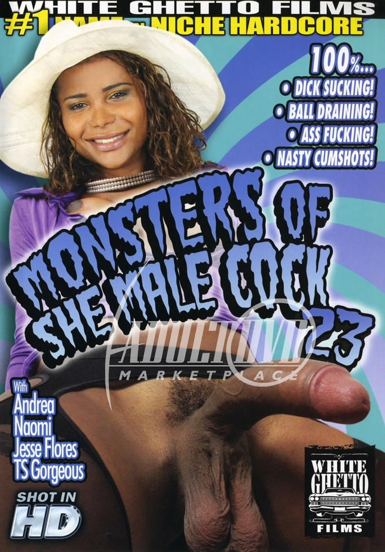 Monsters Of She Male Cock 23 [DVDRip 480p]