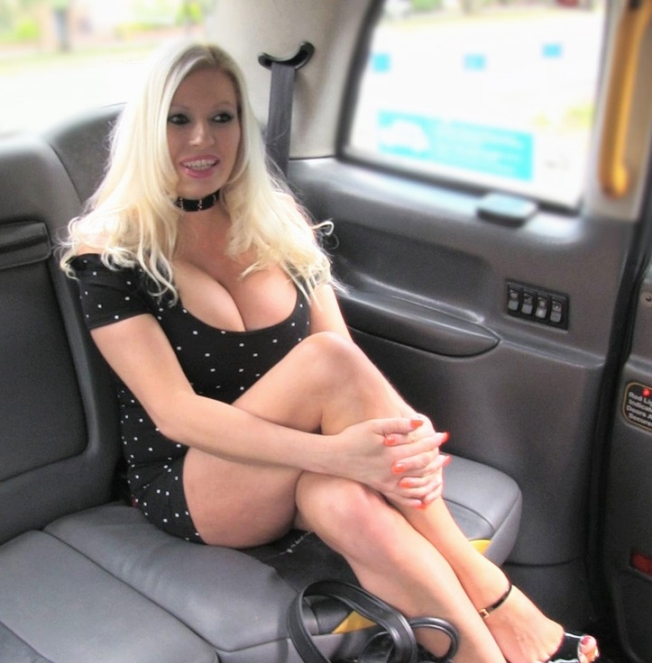 Michelle Thorne ~  Big Tits Blonde in Sexy High Heels  ~  FakeTaxi ~  FullHD 1080p