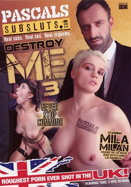 Cassie De La Rage, Jess Scotland, Liz Rainbow, Mila Milan - Destroy Me 3 [WEBRip/FullHD 1080p] [PascalsSubSluts]