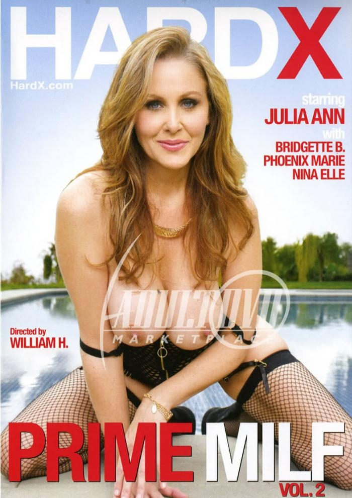 Hard X - Nina Elle, Phoenix Marie, Julia Ann, Bridgette B [Prime MILF 2] (WEBRip/SD 544p)